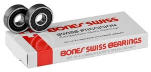 Bones Original Swiss Competition Skate Bearings | best longboard bearings