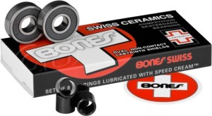 Bones Swiss Ceramics Bearings | best longboard bearings