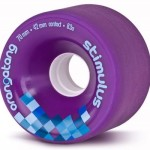 Orangatang Stimulus Purple Wheels