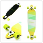 Xtreme Free Professional Speed Downhill Drop Through Complete Longboard Skateboard