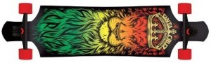 Santa Cruz Lion God Rasta