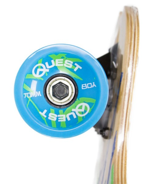 Quest Bamboo Bomber Downhill Style Performance Longboard Wheels