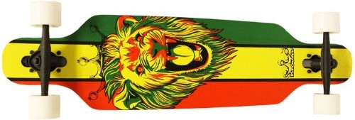 Krown Rasta Freestyle Elite Complete Longboard