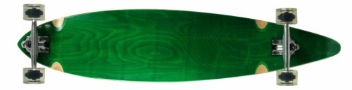 SCSK8 Natural Blank & Stained Complete Longboard
