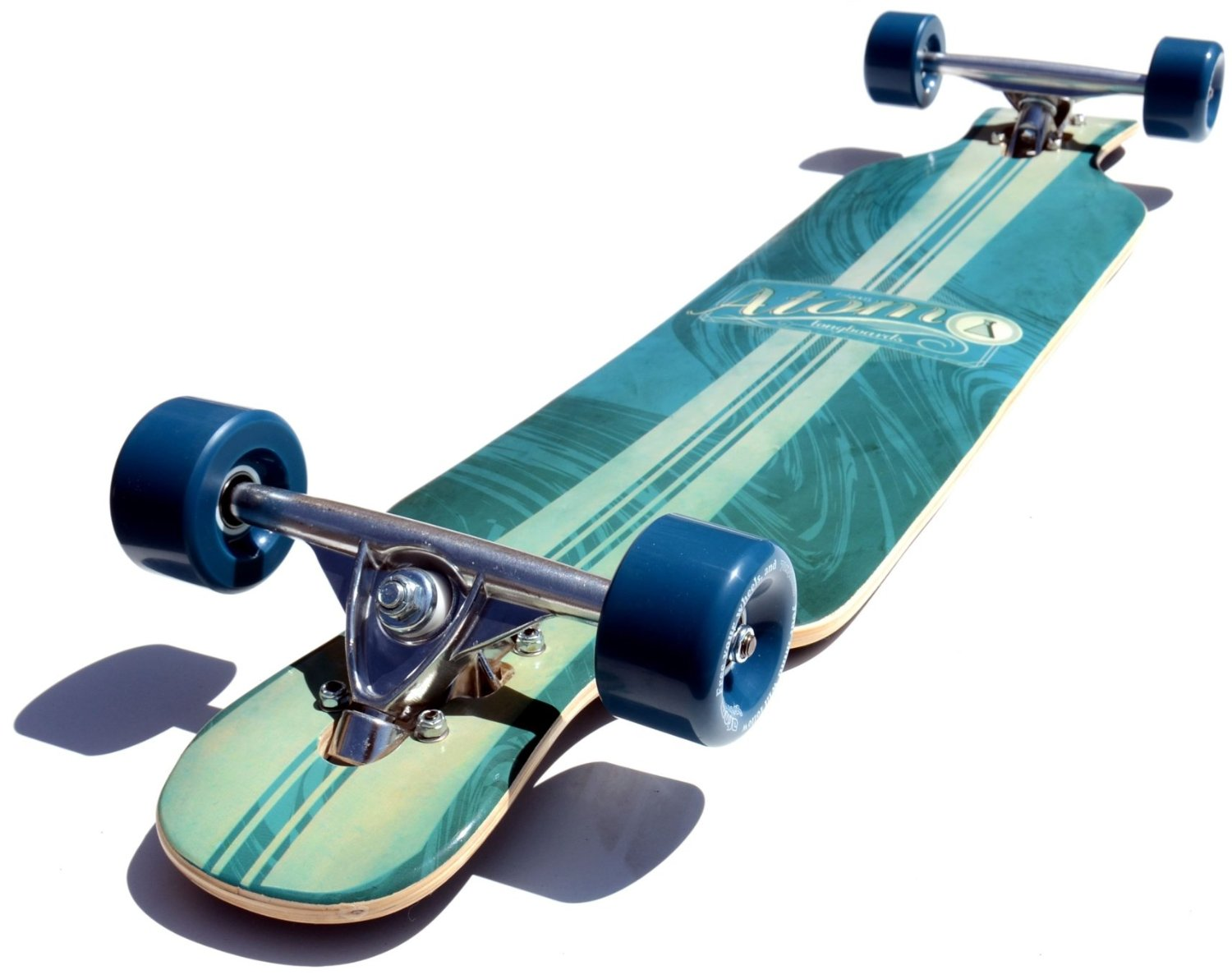 The Atom drop kick longboard 39