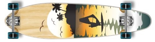 The Kicktail special graphic longboard