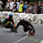 downhill longboard racing