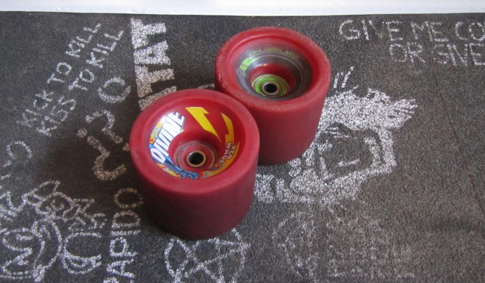 Longboard wheels, Similar looking, very different feeling