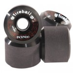 Fireball Incendo Black 70mm 87a Longboard Skateboard Wheels