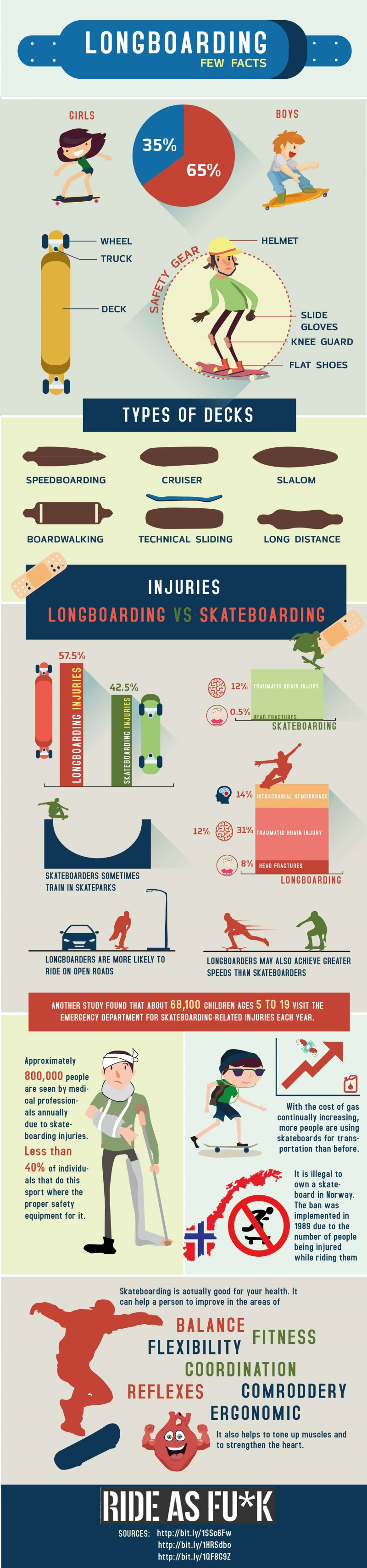 Longboarding Infographic Small