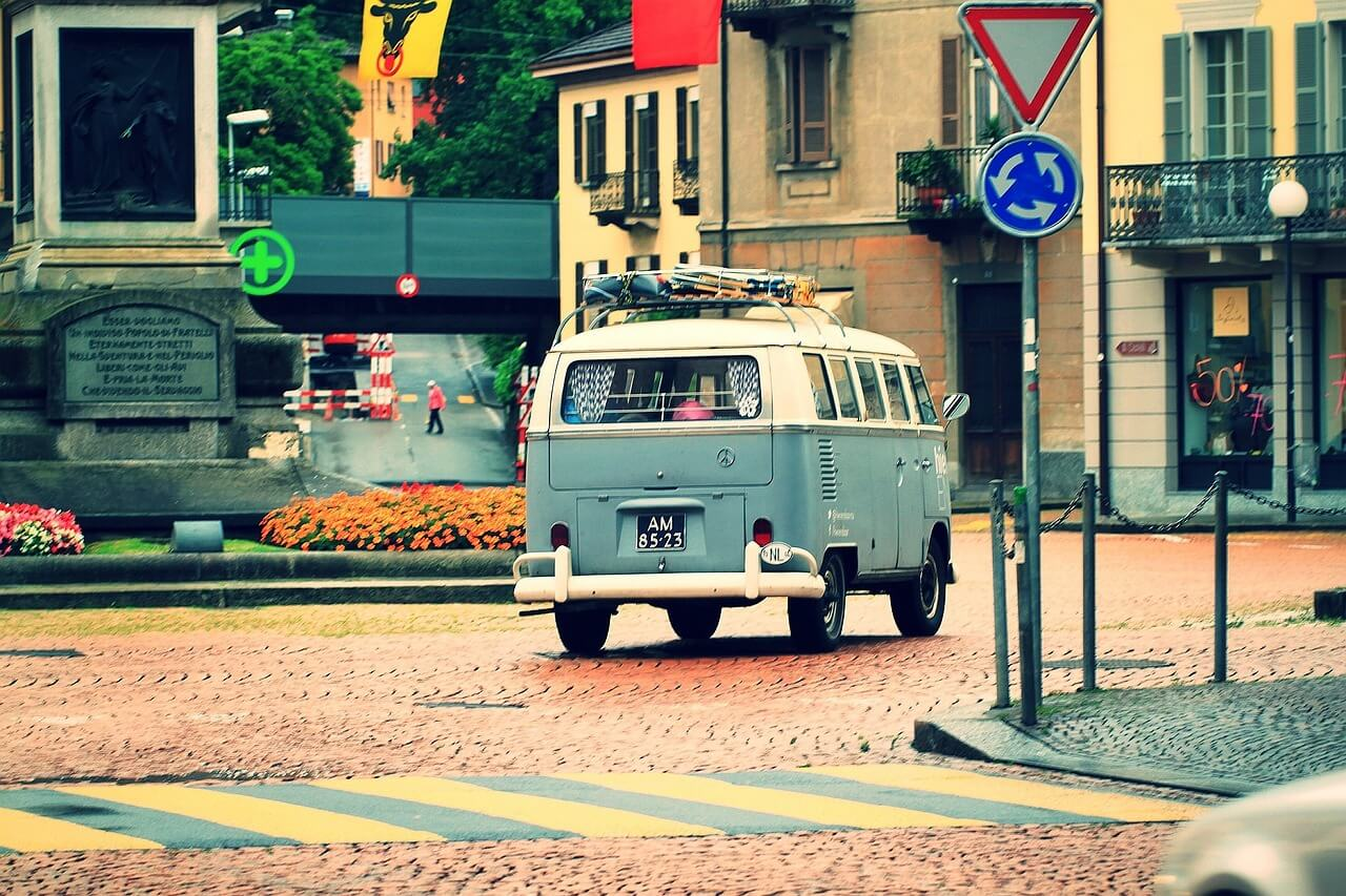 old vw camper