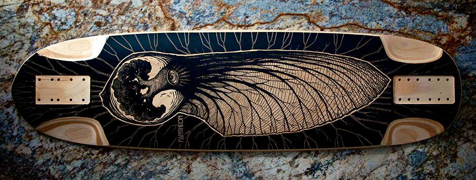 Pantheon 2015 Embryo Longboard