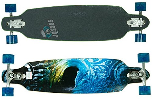 Sector 9 Aperture Sidewinder Drop Trough Downhill Cruise Freeride Longboard