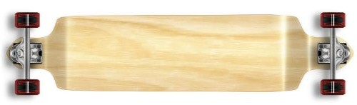 Yocaher Professional Speed Drop Down Stained Complete Longboard