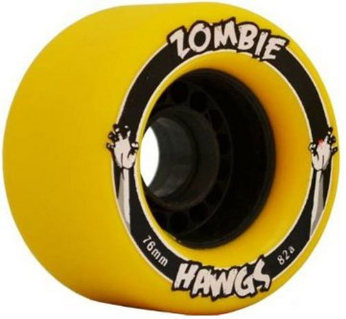 Landyachtz Zombie Hawgs (76mm) - best longboard wheels