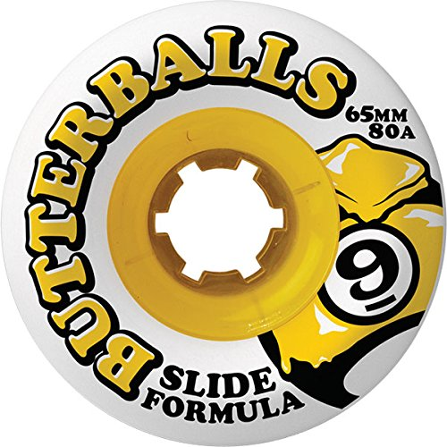 Sector 9 Slide Butterballs 80a 65mm Longboard Wheels