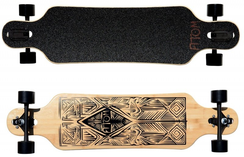 Atom Drop Through Longboard (40 Inches)