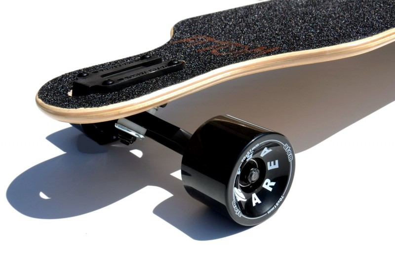 Atom Drop Through Longboard Trucks and Wheels
