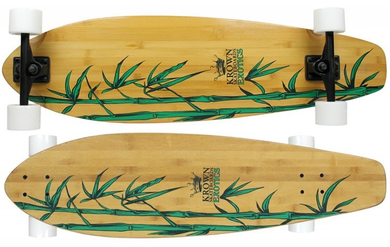 Krown Exotic Kicktail Longboard