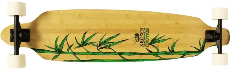 The Krown Krex 2 Bamboo Freestyle Complete Longboard