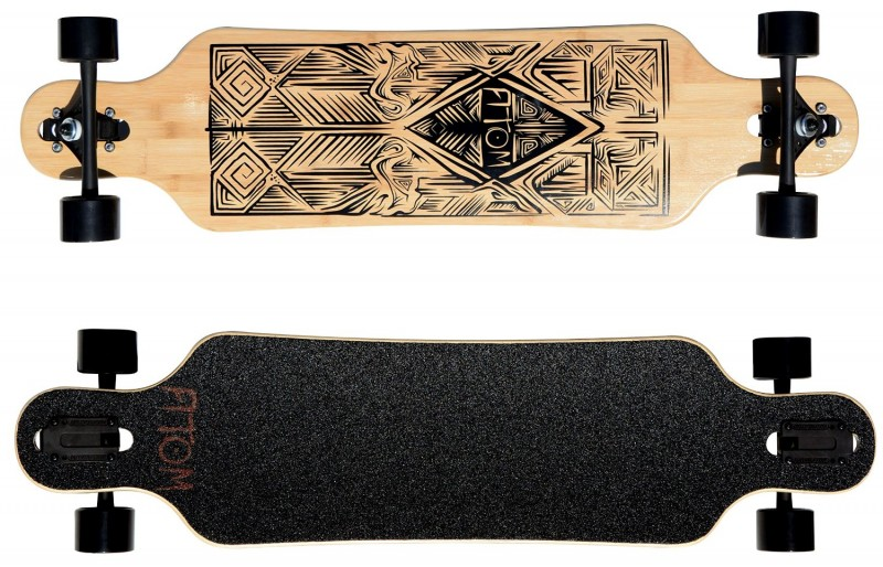 Atom 40 Inch Drop Through Longboard