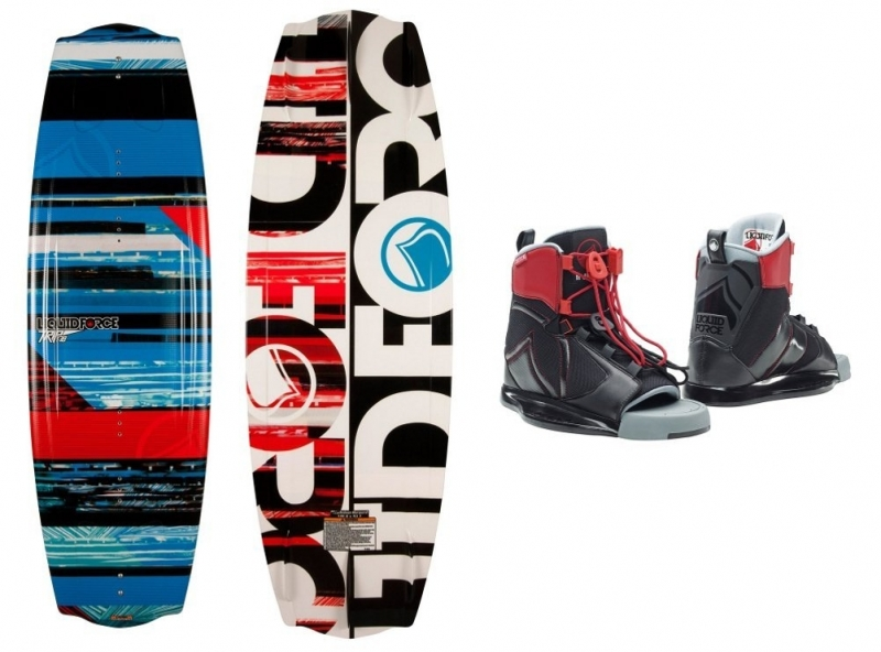 Liquid Force Trip Wakeboard With Index Bindings 2015