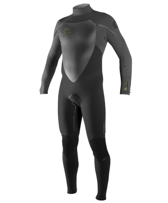 O'Neill Wetsuits Men's Heat 3Q Zip Fluid Seam Weld Full Suit