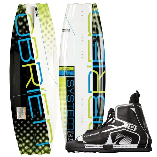O brien System 135 Wakeboard with Device Bindings