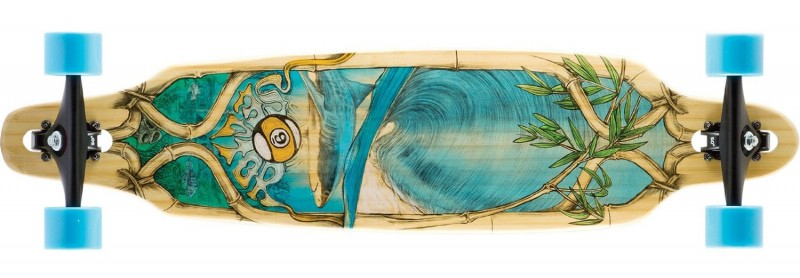 Sector 9 Bamboo Lookout longboard
