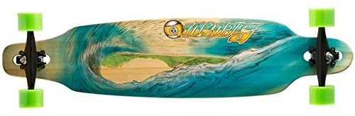 Sector 9 Lookout Blue Wave Longboard