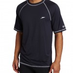 Speedo Mens UPF 50+ Short-Sleeve Rash Guard