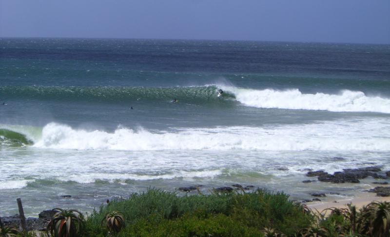 Supertubes in Jeffrey's Bay