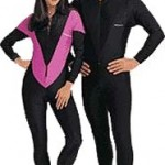 Womens lycra dive skin rash guard