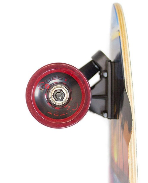 Quest Island Sunset Pintail Longboard Wheels