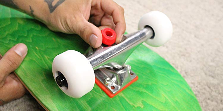 how to replace longboard bushings