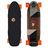 Loaded Boards Truncated Tesseract Bamboo Longboard Skateboard Complete