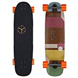 Loaded Boards Cantellated Tesseract Bamboo Longboard Skateboard Complete