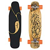 Loaded Boards Poke Bamboo Longboard Skateboard Complete