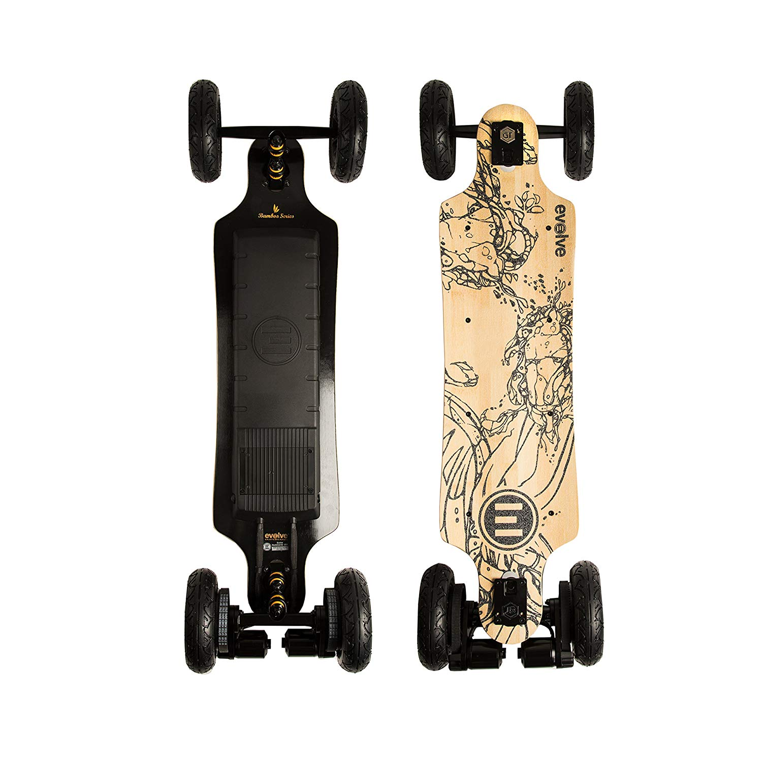 Evolve Skateboards – Bamboo GT Series Electric Skateboard